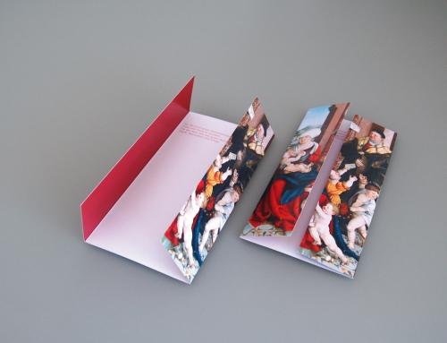 Gestaltung einer Weihnachtskarte